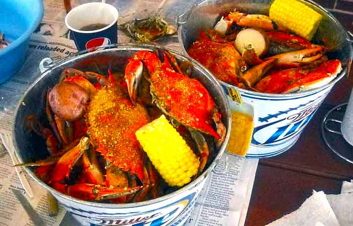 Today S Catch All U Can Eat Blue Crab